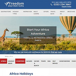 Freedom Africa Holidays