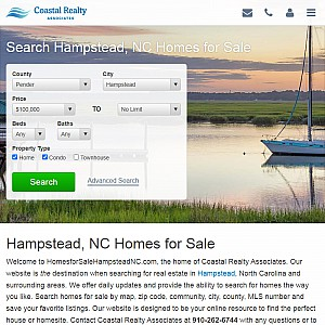 Homes for Sale Hampstead NC