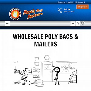 Plastic Bags Wholesale - Clear Plastic Bags, Poly Tubing, Polypropylene Bags & More
