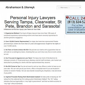 Tampa, FL Personal Injury Attorneys