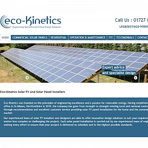 Eco-Kinetics Solar PV Installers