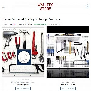 Pegboards by Wallpeg Store