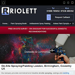 Riolett Wet Paint Spraying