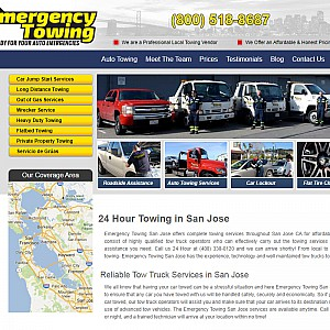 24/7 Towing Services in San Jose