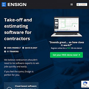 Ensign Advanced Systems Ltd - Estimating Software for contractors