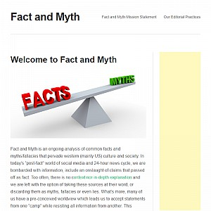 Fact and Myth