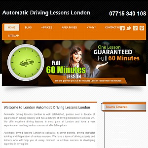 Automatic Driving Lessons in London With Cheap Driving Schools, best insturctors & cheap prices