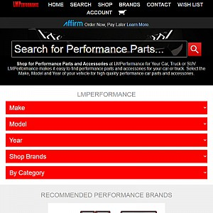 LMPerformance.com - Performance Car Parts and Accessories.