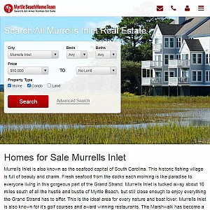 Search Homes for Sale Murrells Inlet