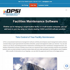 DPSI - Facility Maintenance Software