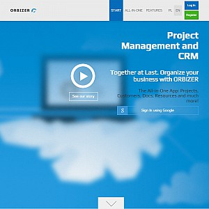 Orbizer project management software
