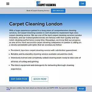 1st Carpet Cleaning