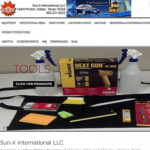 Window Tinting | Window Film | Sun-X