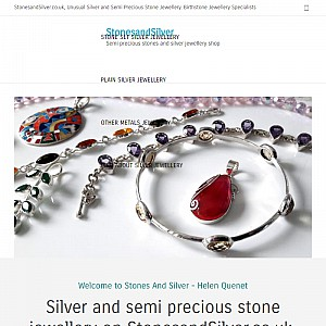 Stones and Silver Jewellery