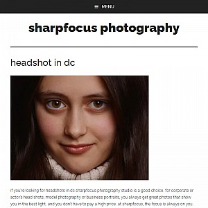 Dc headshots photographer | sharpfocus photography