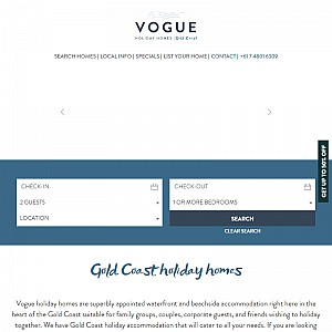 Vogue Holiday Homes - Gold Coast