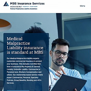 MBS Insurance Services | Medical Malpractice Insurance NY, NJ, PA
