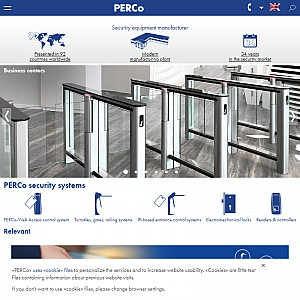 PERCo Security Turnstiles
