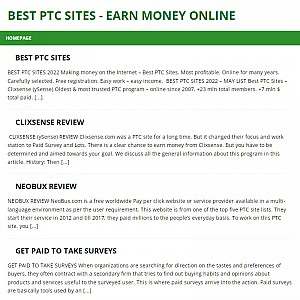 Best PTC sites. Complete guide - Tips & tricks.