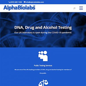 DNA Testing | AlphaBiolabs