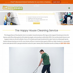 The Happy House Cleaning - Domestic Cleaning Services in London