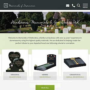 Memorials of Distinction