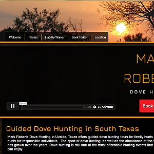 Mark Roberts Guided Dove Hunting