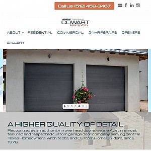Custom Garage Doors & Repair