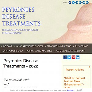 Peyronies Disease Treatments