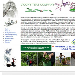 Chinese Tea Wholesaler & Supplier-ViconyTeas