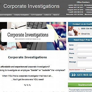 Corporate Investigations UK