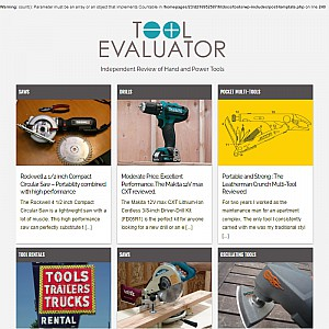Tool Evaluator - Independent Tool Reviews and Articles