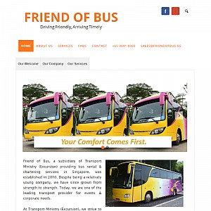 Singapore Bus Chartering & Transport Services