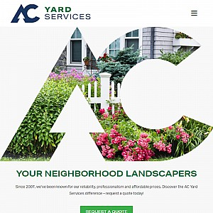 AC Yard Services | Portland Maine Landscaping