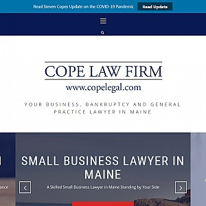Cope Law Firm | Bankruptcy Lawyers in Maine