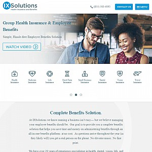 IXSolutions Health Insurance Marketplace
