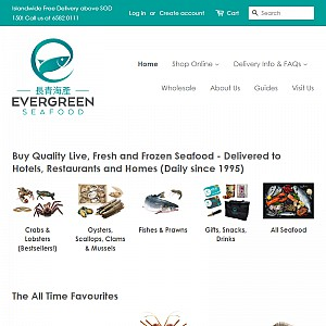 Evergreen Seafood Supplier Singapore