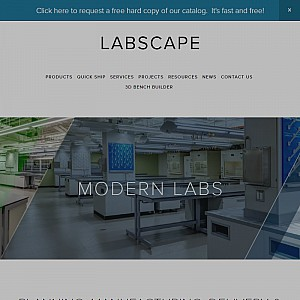 Labscape - Chemical Fume Hoods and Laboratory Furniture