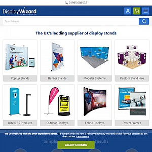 Exhibition Stands & Banner Stands by Display Wizard