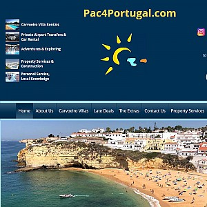 Algarve rental villas, airport transfers, property management and real estate packages