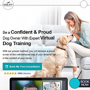 Tampa's best dog training team