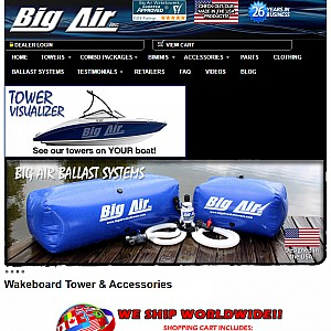 Wakeboard Towers | Wake Towers and Accessories | Big Air