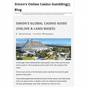 Simon's Online Casino Guide