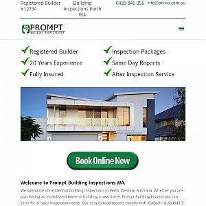 Prompt Building Inspections of Western Australia