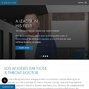 Dr. Shervin Aminpour - Los Angeles Ear Nose and Throat Doctor