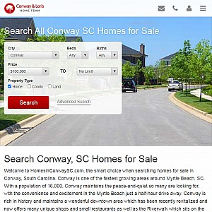 Search All Conway, SC Homes for Sale