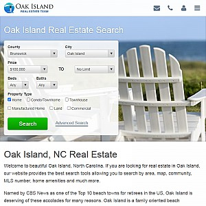 Search Oak Island, NC Homes for Sale