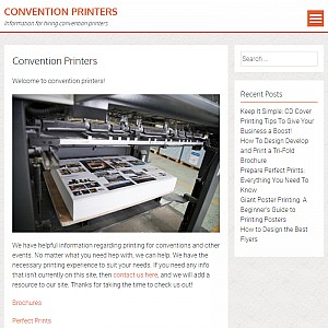 Convention Printers