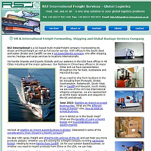 RSJ International Freight