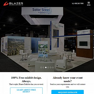 Blazer Exhibits & Events | Trade Show Displays & Booths